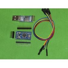 Arduino Pro Mini + USB to serial (PL2303)